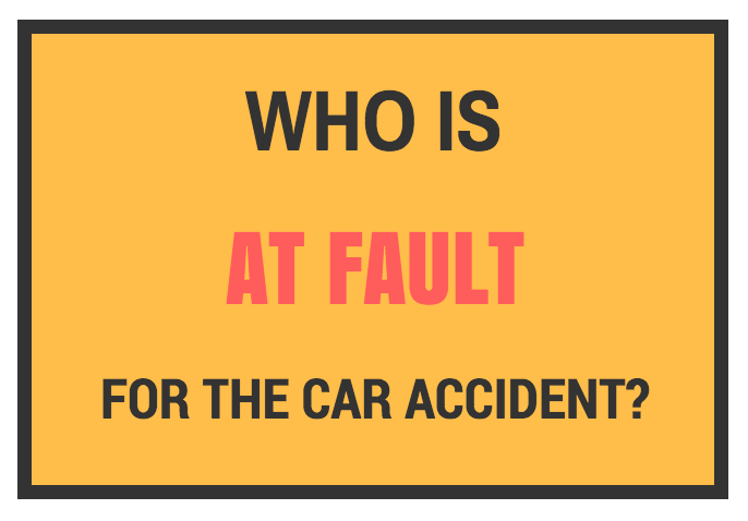 Establish who's at fault for a car, motorcycle, or bicycle accident.