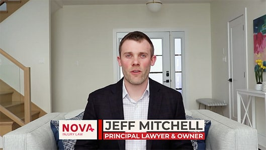 Jeff Mitchell, principal lawyer and founder of NOVA Injury Law